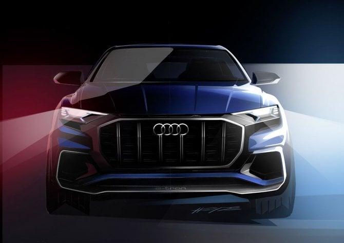 Audi Q8 Concept, in attesa di Detroit