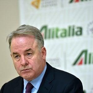 Alitalia, intesa sul finanziamento. Ma trema la poltrona di Hogan