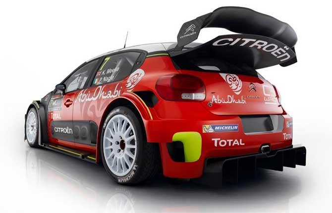 Citroen Racing è pronta  a una nuova sfida nel Wrc