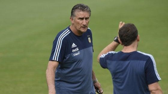 """Argentina, Bauza: """"Stiamo seguendo Perotti, Icardi resta la mia terza scelta"""""""