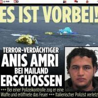 Ucciso a Milano l'attentatore di Berlino, la notizia sui siti stranieri