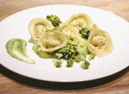 Broccoli e arzilla sì, ma nel tortello