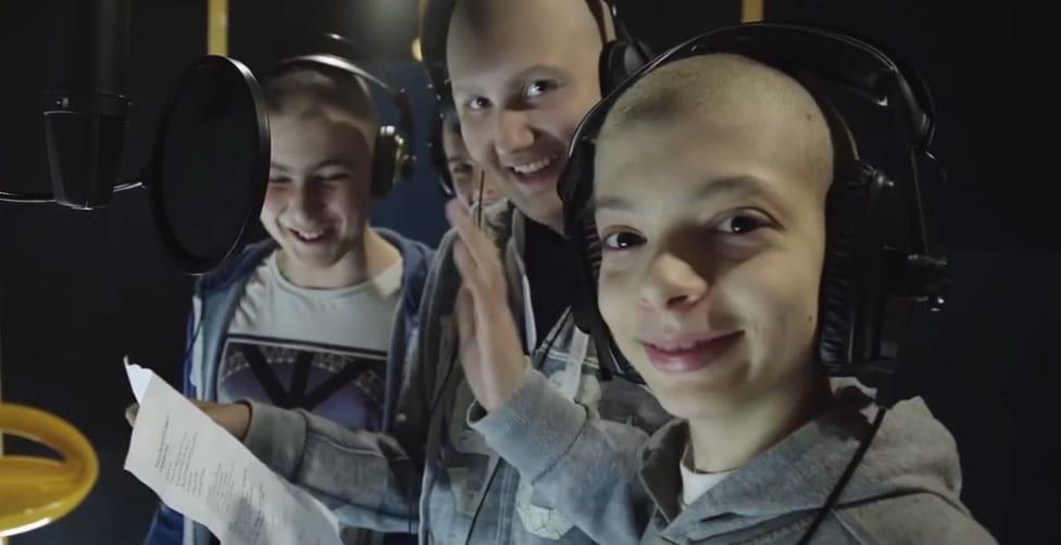 La canzone scritta dai ragazzi  che combattono il tumore