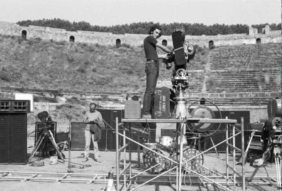 Pink Floyd a Pompei, 45 anni fa il film concerto