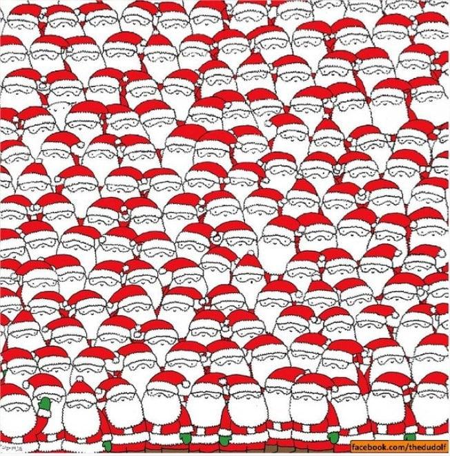 Il rompicapo natalizio piace ai social: riuscite a trovare la pecorella?