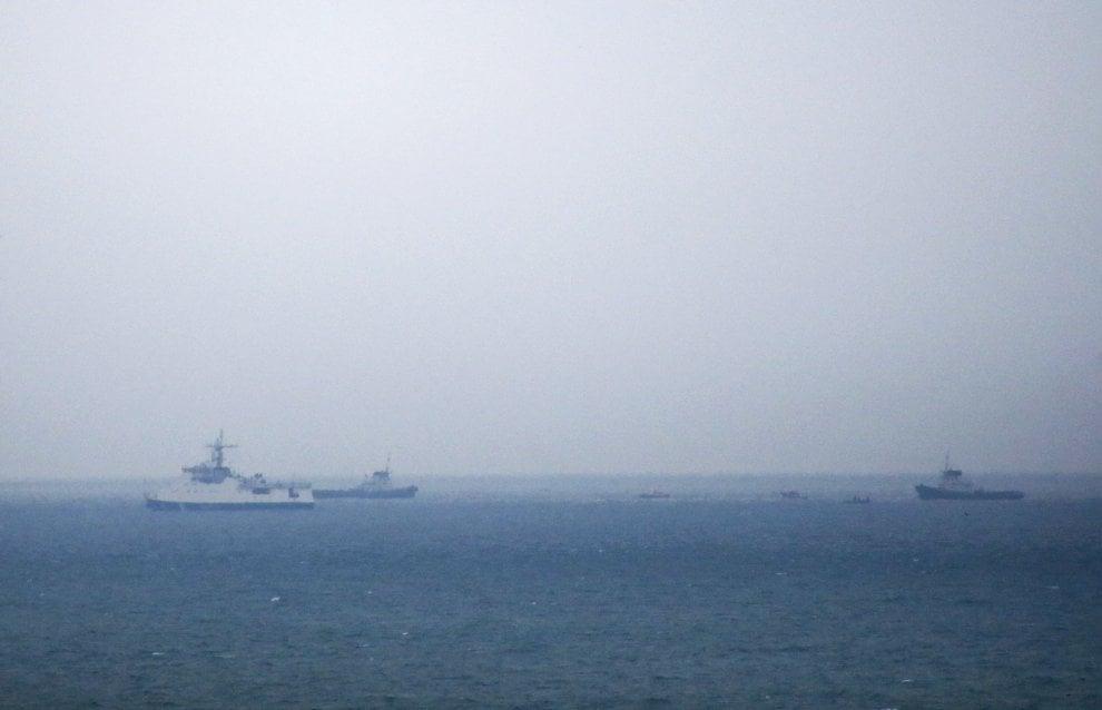 Aereo caduto nel Mar Nero: le operazioni di recupero