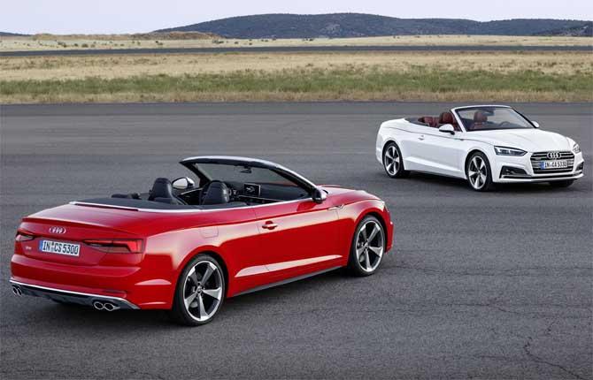 Audi A5 e S5 cabriolet, inizia la prevendita