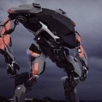 A metà tra RoboCop e Transformer: i robot di Vitaly Bulgarov