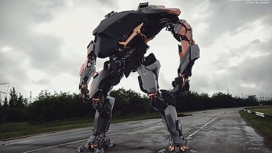 Come Avatar e Aliens: ecco i primi passi del robot-umano