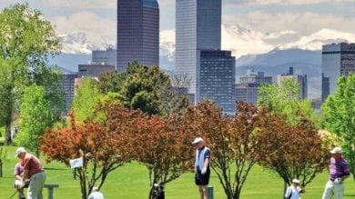 Biciclette, aree verdi, energie rinnovabili  Denver, paradiso degli ambientalisti   Foto