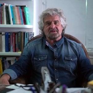 """Grillo, il contro-discorso di fine anno: """"Un 2017 di orgoglio e riscatto"""""""