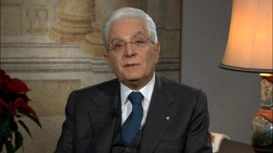 """Mattarella: """"Senza legge elettorale alto rischio ingovernabilità"""". """"No a cittadini di serie B"""""""