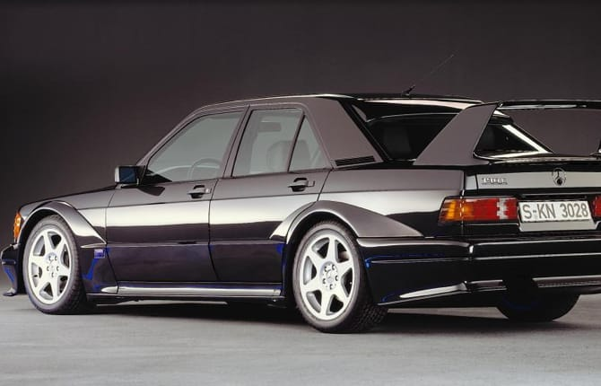 Mercedes 190 E 2.5-16 Evolution II, che storia…