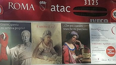 Roma, la campagna Natale nei Musei copiata da Facebook: un altro imbarazzo per il Campidoglio