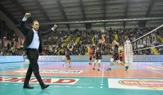 """Volley, Bernardi: """"Perugia è tornata a vincere, merito del gruppo"""""""
