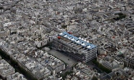 Beaubourg, l'astronave nel cuore di Parigi