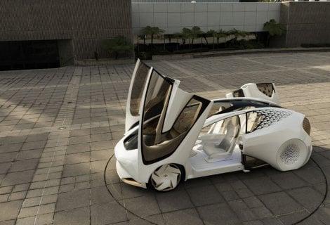 Toyota Concept-i, l'auto che impara dal guidatore