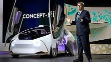Toyota Concept-i, l'auto che impara dal guidatore   Video    -    Foto