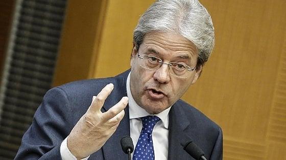 """Terrorismo, Gentiloni: """"Il pericolo viene dalle carceri e dal web ma in Italia meno radicalizzazione"""""""