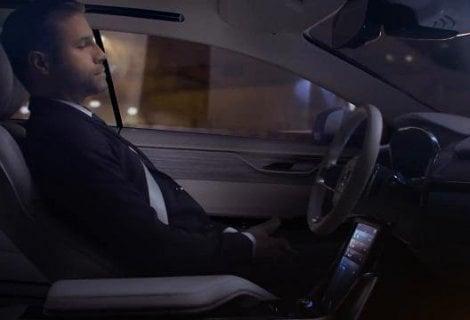 Volvo, l'auto di domani tra salotto e ufficio