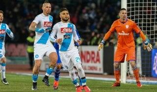 Le pagelle di Napoli-Sampdoria: Puggioni cade solo all'ultimo, Hysaj senza alibi