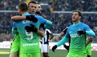 Le pagelle di Udinese-Inter: Karnezis colpevole, Miranda insuperabile