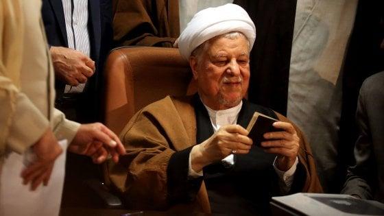 Iran, è morto ex presidente Akbar Hashemi Rafsanjani