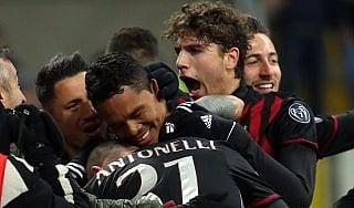 Milan-Cagliari 1-0: Bacca stende i sardi nel finale