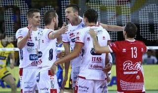 Volley, Superlega: Trento e Perugia sono le anti-Lube. rallenta Modena