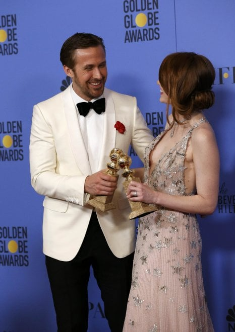 Golden Globe, tutti i premiati: da Emma Stone a Meryl Streep