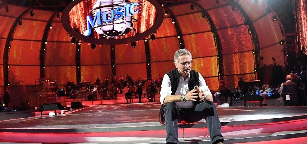 """'Music', show di Bonolis aspettando Sanremo. """"Tornassi al Festival lo rivoluzionerei"""""""