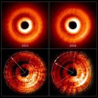 Hubble: quell'ombra sulla stella svela un pianeta che non possiamo vedere