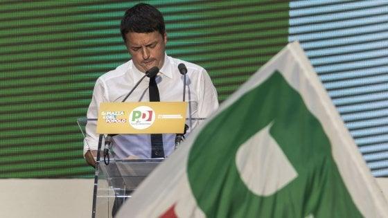 """Renzi cambia squadra, nuova ricetta per il Pd. """"Giovani e intellettuali"""""""