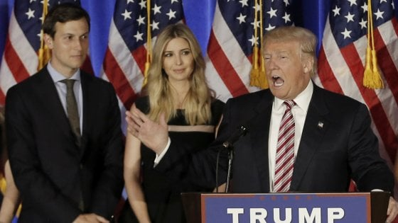 Usa, Trump sfida la legge contro il nepotismo e porta il genero alla Casa Bianca