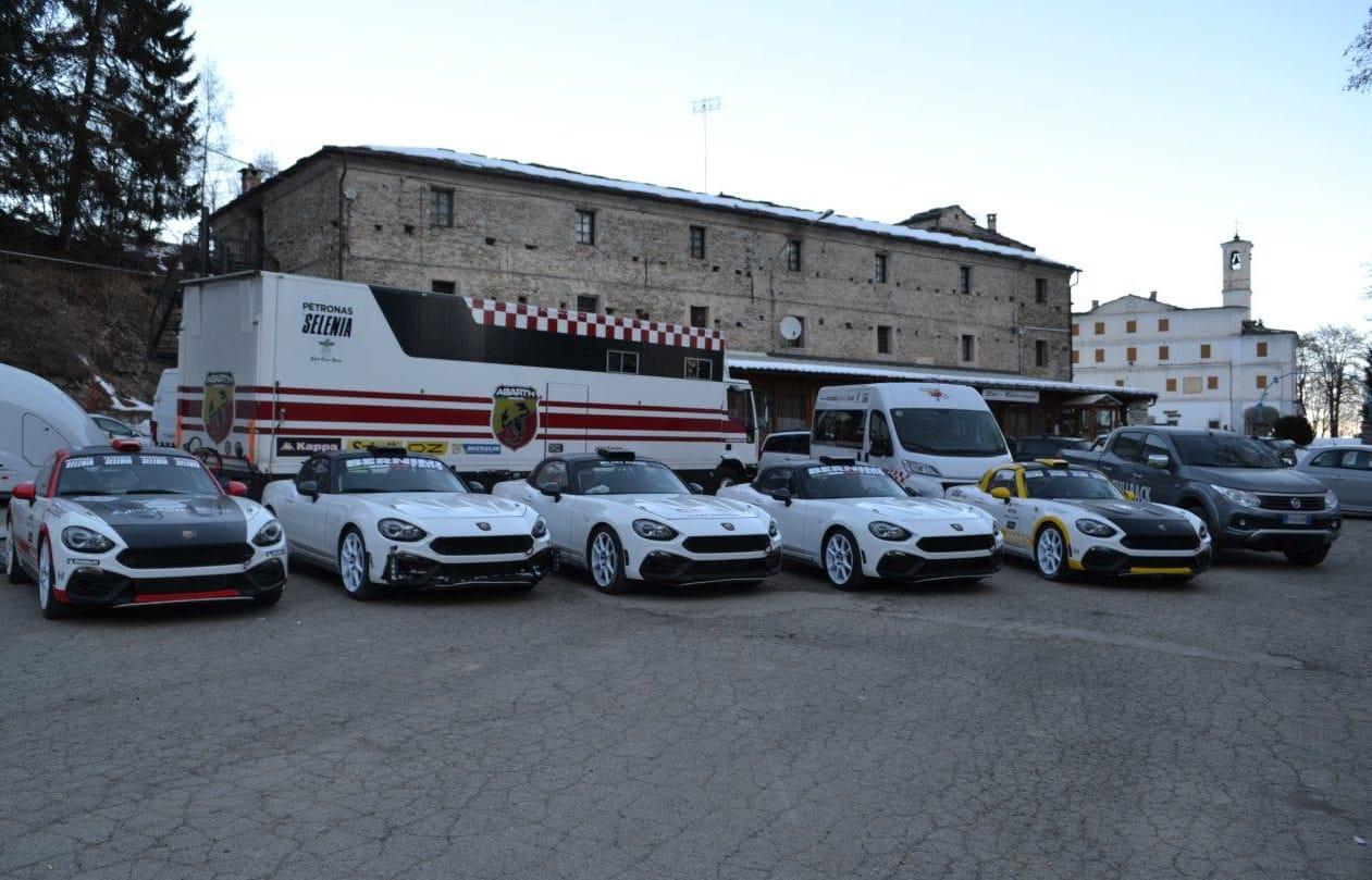 Nuova Abarth 124 Rally, il debutto a Montecarlo
