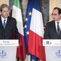 Incontro Hollande-Gentiloni: