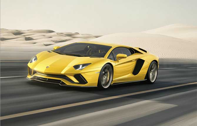 Annata record per Automobili Lamborghini