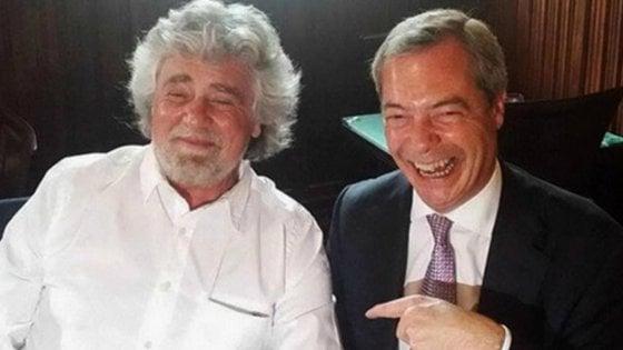 Ue, dopo il no dei liberali marcia indietro M5s:  si torna con Farage ma il britannico detta le condizioni