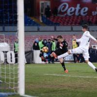 Napoli-Spezia 3-1, azzurri ai quarti con le seconde linee