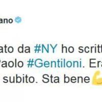 Malore per Gentiloni, gli auguri di pronta guarigione su Twitter