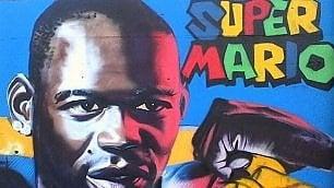 Tifosi pazzi per Balotelli: a Nizza spunta il murale di Super Mario