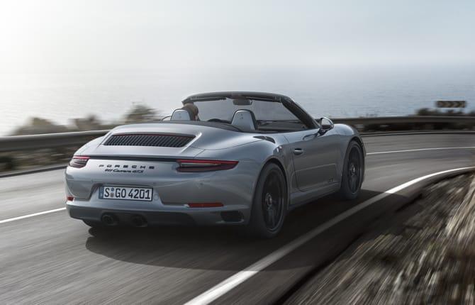 Porsche 911, arrivano i modelli GTS