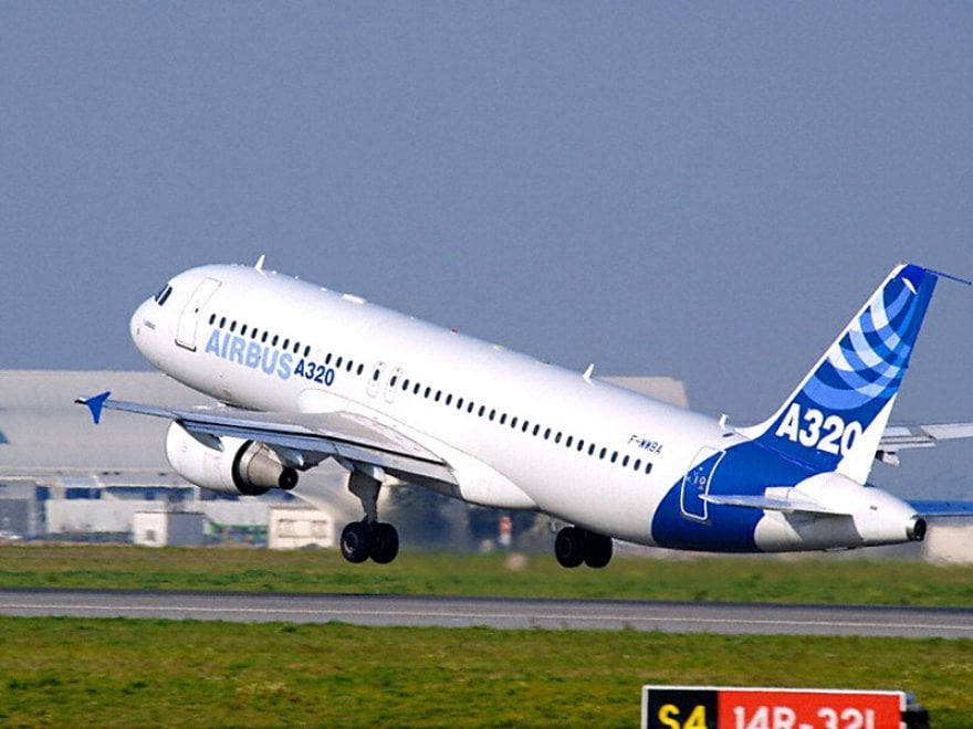 Tutti i modelli Airbus