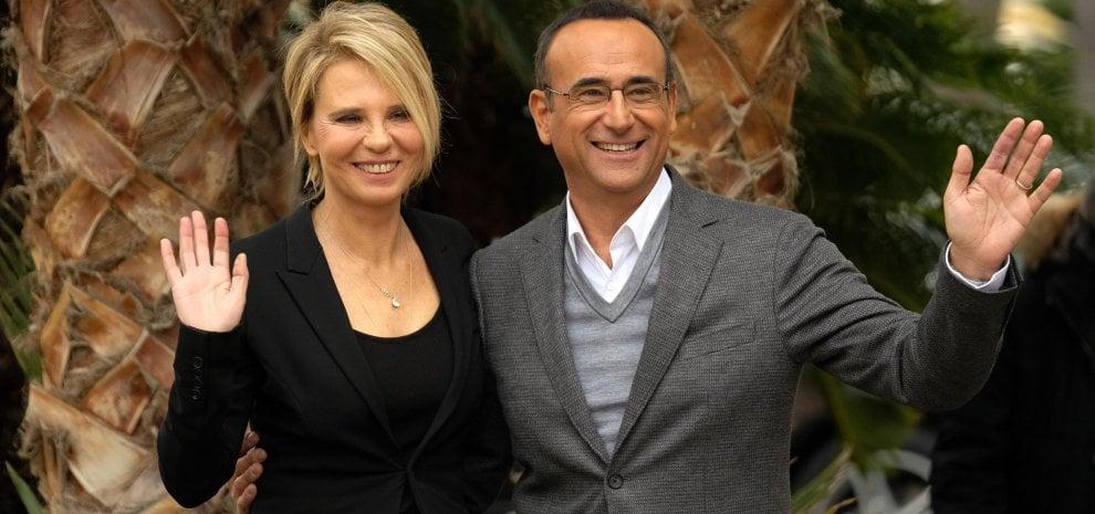 """Maria De Filippi al Sanremo di Conti: """"Mi fido di Carlo, per questo ho accettato"""""""