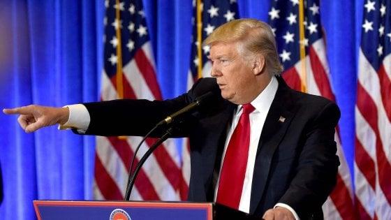 """Usa, alla prima conferenza stampa Trump ammette: """"Russi dietro gli hacker. Ma Mosca ora ci rispetterà"""""""