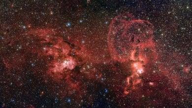 La Via Lattea un milione di anni fa avvolta da un enorme blob luminoso