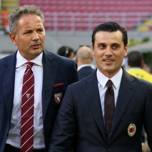 "Milan, Montella sfida Mihajlovic: ""Voglio altri passi avanti"""