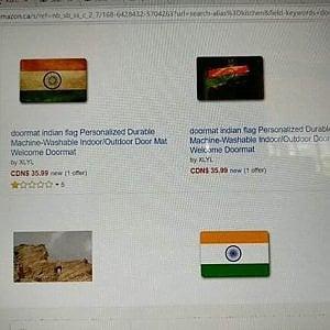 """""""Non metterete i piedi sull'India"""", così Amazon ritira il tappetino"""