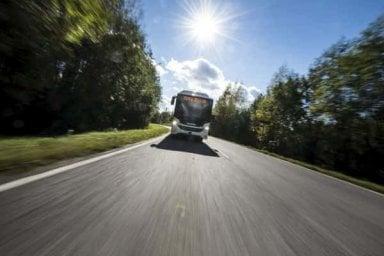 Scania per l'ambiente, ecco il primo bus bi-articolato a gas