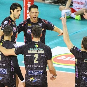 Volley, Coppa Italia: la Lube alla Final Four, travolta Vibo Valentia